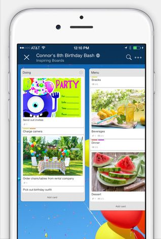 Trello Releases Big iOS Update With New Design, iOS Sharing Android - scan to spreadsheet app iphone