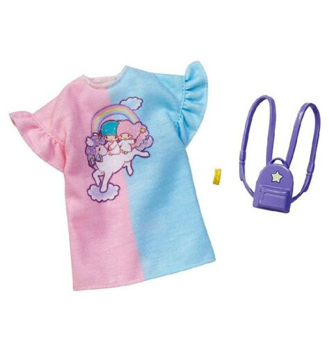NEW! SANRIO LITTLE TWIN STARS DRESS ENSEMBLE FASHION PACK BARBIE OUTFIT CLOTHES | eBay