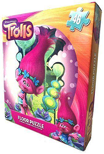 Trolls Floor Puzzle 46Pc