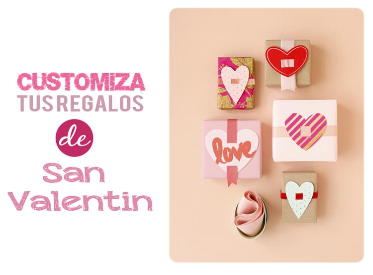 Imprimibles para personalizar tus regalos de San Valentin