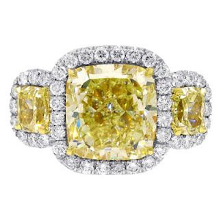 FANCY INTENSE YELLOW DIAMOND RINGS FOR ENGAGEMENT AND WEDDING AT AMAZINGLY CHEAP PRICES WITH FREE SUPER SAVER SHIPPING, CLICK IMAGE TO FIND OUT MORE!!!