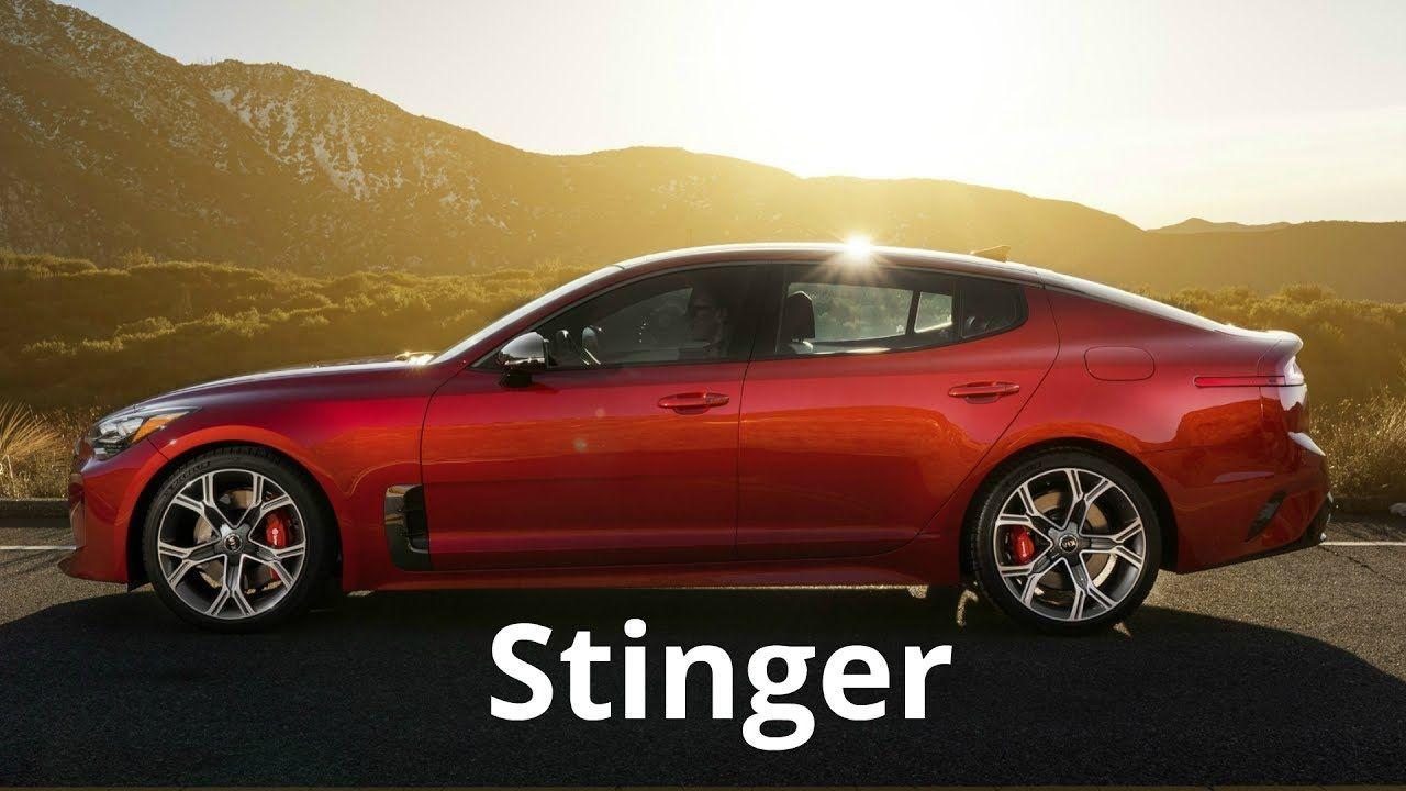 KIA Stinger At North American International Auto Show - International autos