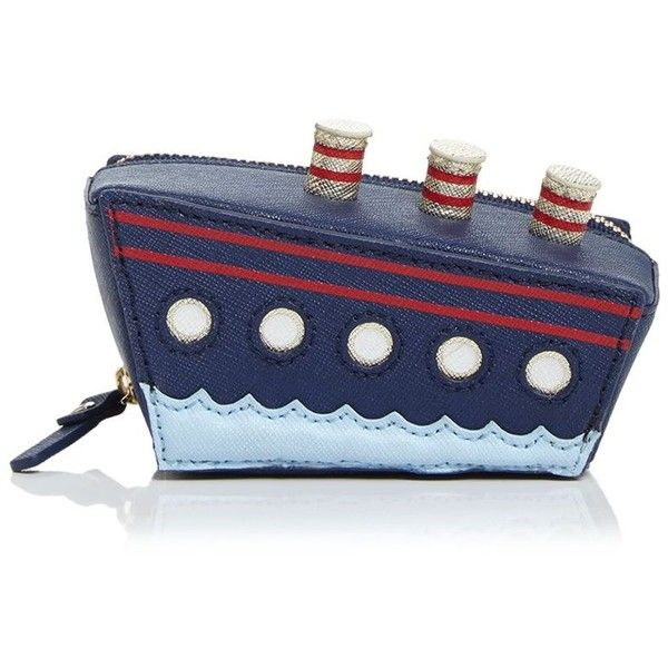 kate spade new york Cruise Ship Coin Case | Nautical bag, Blue wallet, Coin purse