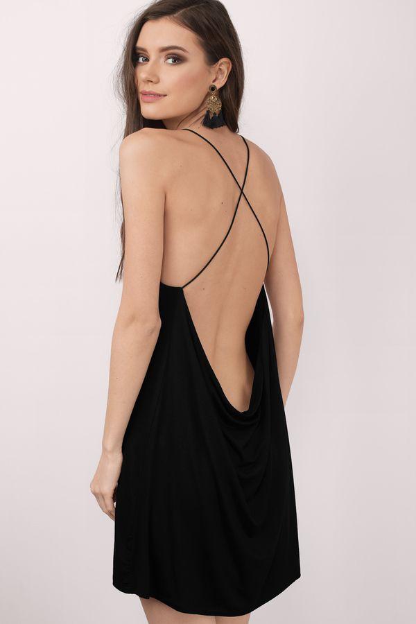 Low -Cut Backless Dresses