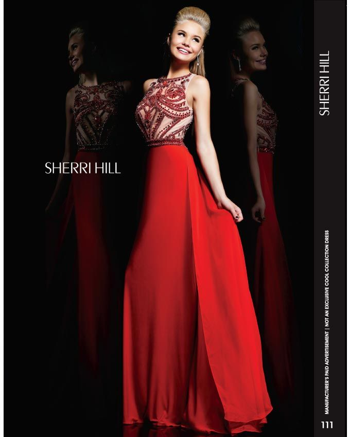 111-1 Sherri Hill Prom Dresses 2014 | Fashion | Pinterest | Abiti ...