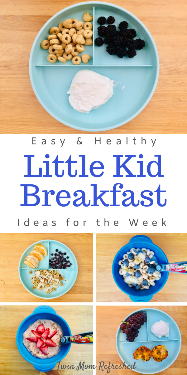 Breakfast Meals For The Week For Toddlers And Kids Toddler Breakfast Easy Meals For Kids Breakfast For Kids