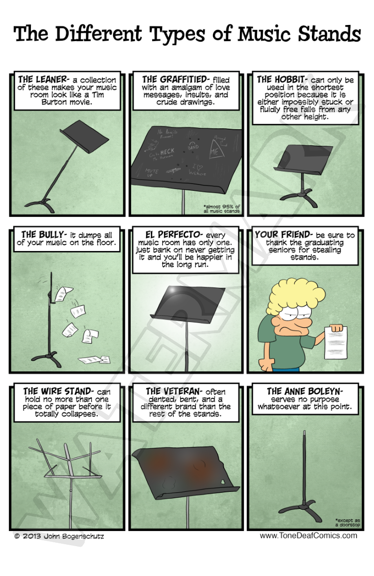 The Different Types of Music Stands - Different Types of Music Stands