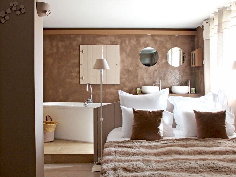Beautiful Salle De Bain Ouverte Sur Chambre Humidite Ideas ...