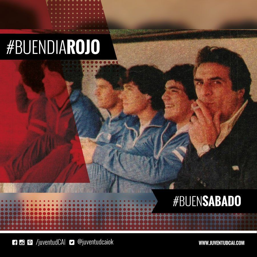 #BuenDiaRojo #BuenSabado! 😈 Una pose característica de Pastoriza. Era su vuelta al banco de #Independiente. Año 1983