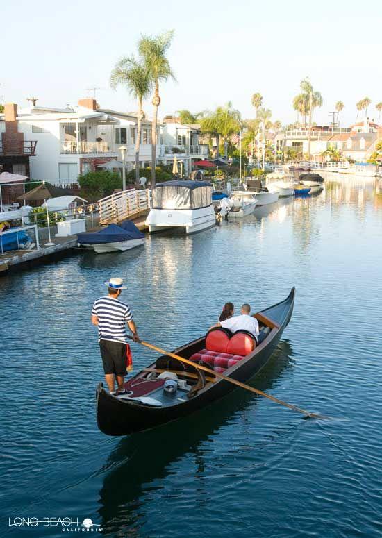 Cruise The Naples Cs In Style On Italian Gondolas Sandy Beaches Long Beach