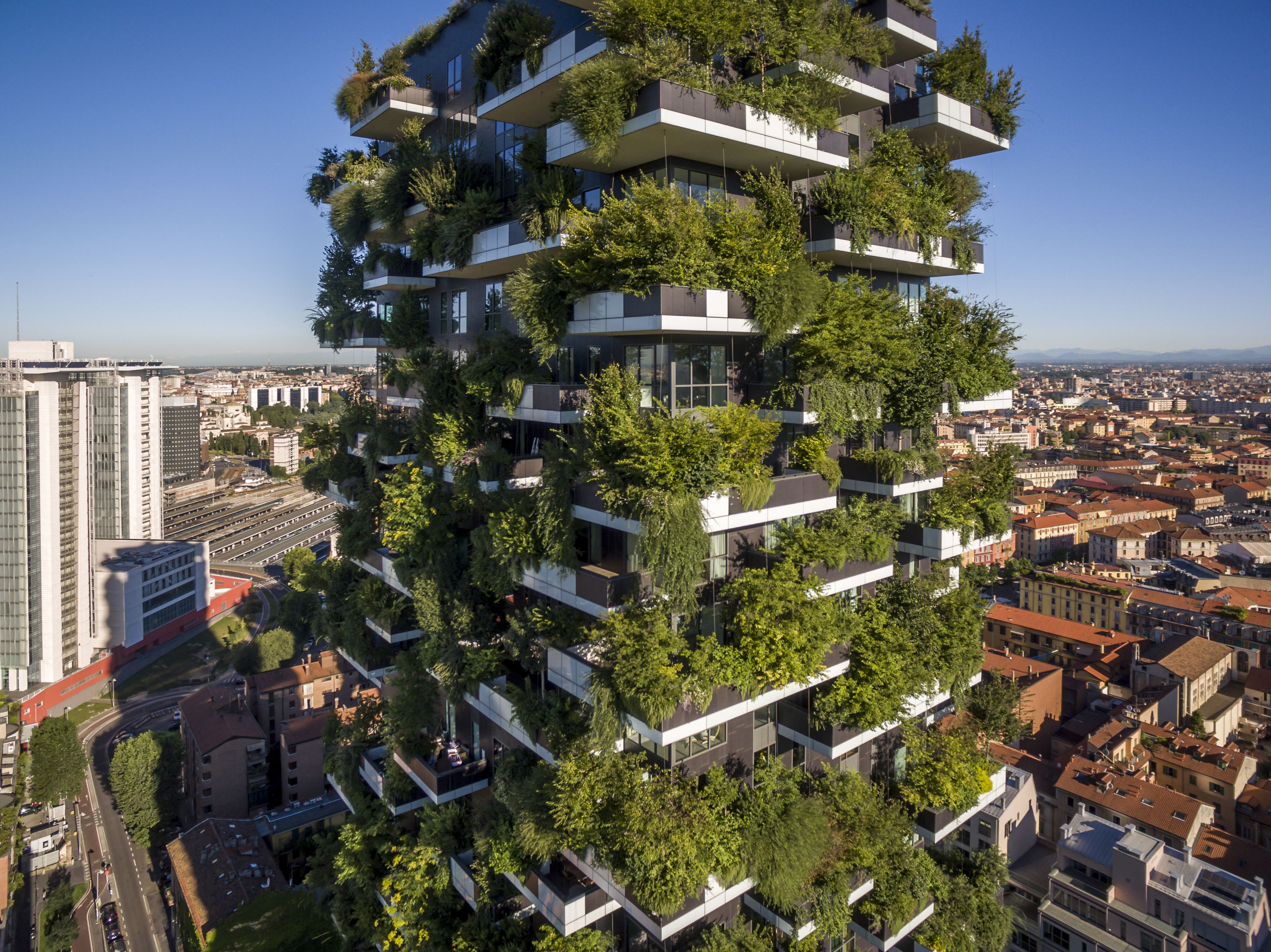 Are Vertical Forests A Solution To Climate Change And Housing Shortages Green Building Architecture Vertical Forest Green Architecture