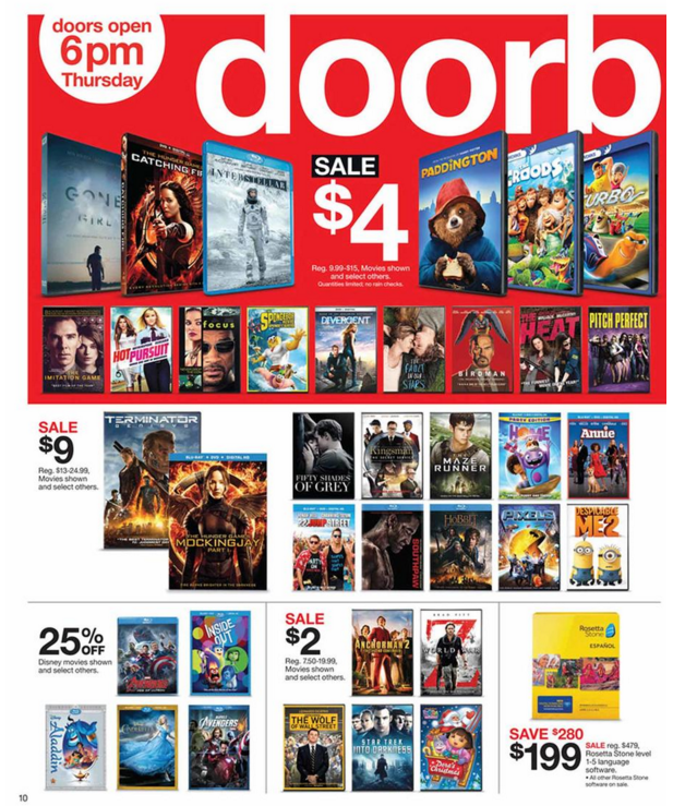 Target Black Friday Ad 2015 - Raining Hot Coupons