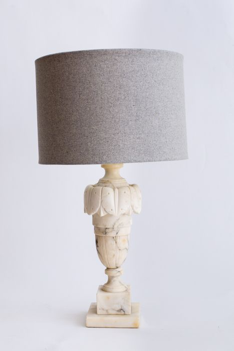 alabaster lamp lighting pinterest marbles tabletop and bulbs rh pinterest com