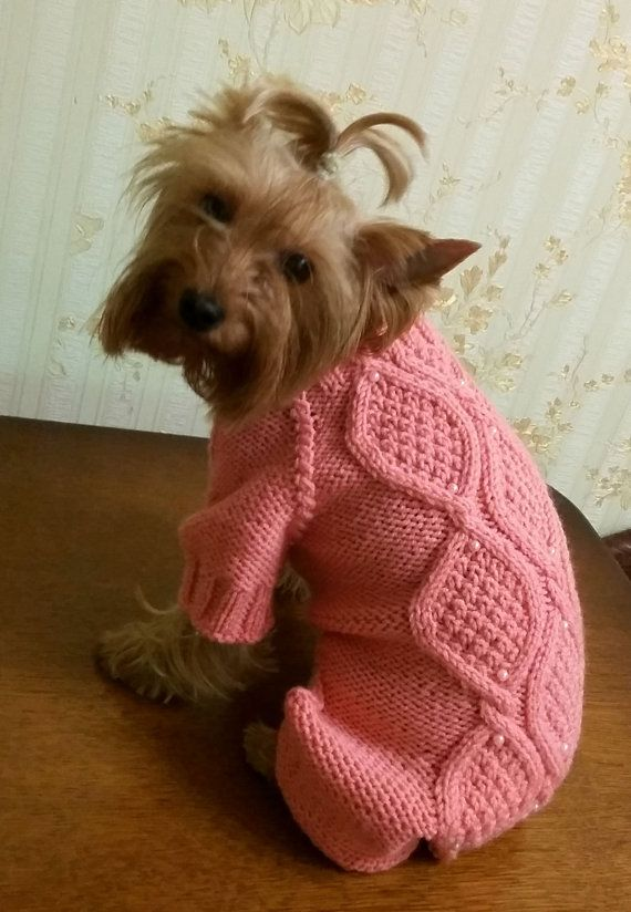 dog costume yorkie clothes Small dog sweater dog dress pet clothes ...