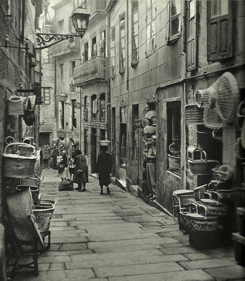 Calle de los cestos a os 50 el vigo que fue - Calle santiago madrid ...