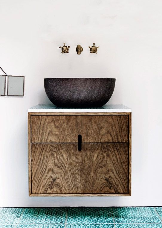Fab Design Möbel fab combination of finishes subtle quality teal and woodgrain