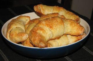 Gluteenitonta leivontaa: Kinkku-juustosarvet