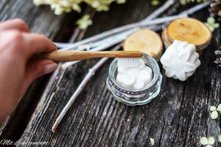 Naturliche Zahnpflege Mit Der Zero Waste Zahnpasta In Fester Form