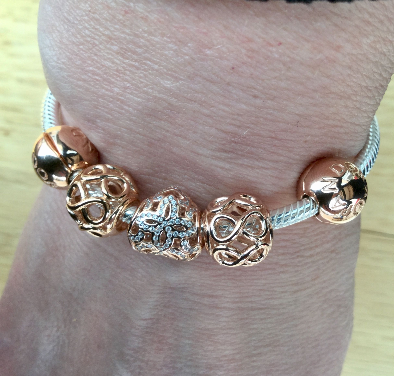 Pandora rose gold | Pandora rose gold bracelet, Pandora rose gold ...
