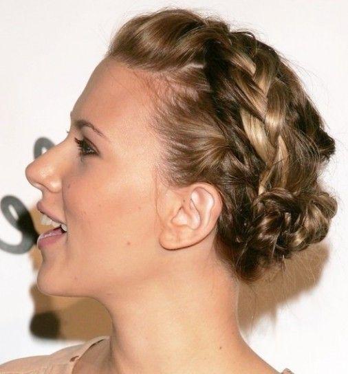 Trenzas para pelo corto Fotos de los mejores estilismos Peinados
