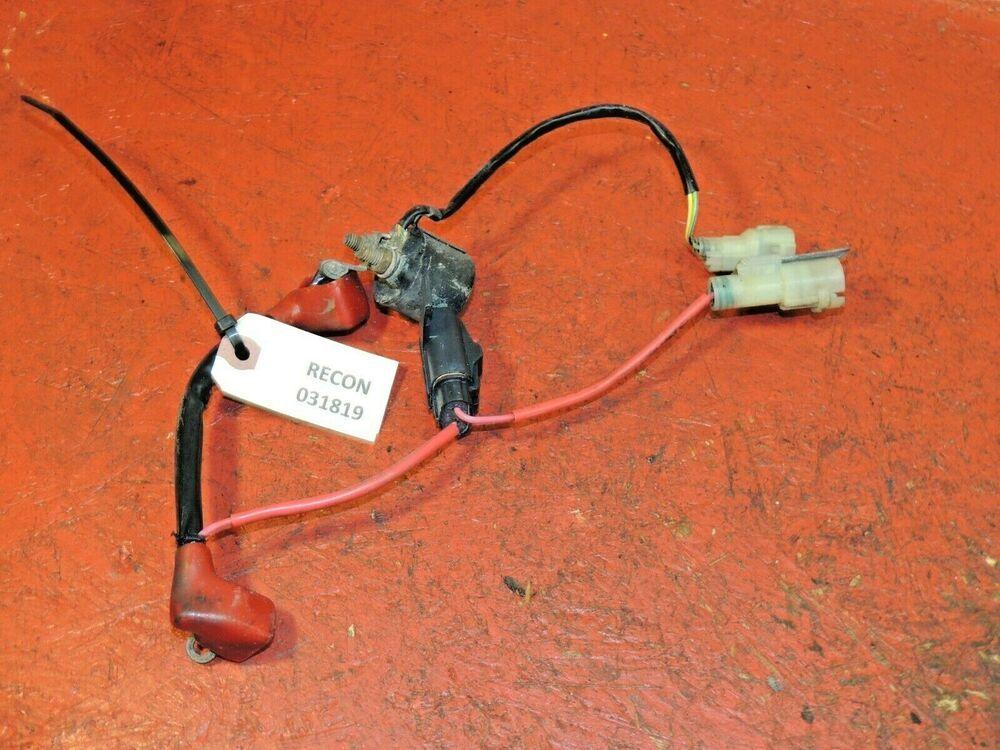 Sponsored eBay) Honda Recon 250 Starter Solenoid & Wiring/Plugs OEM | Oem,  Plugs, HondaPinterest