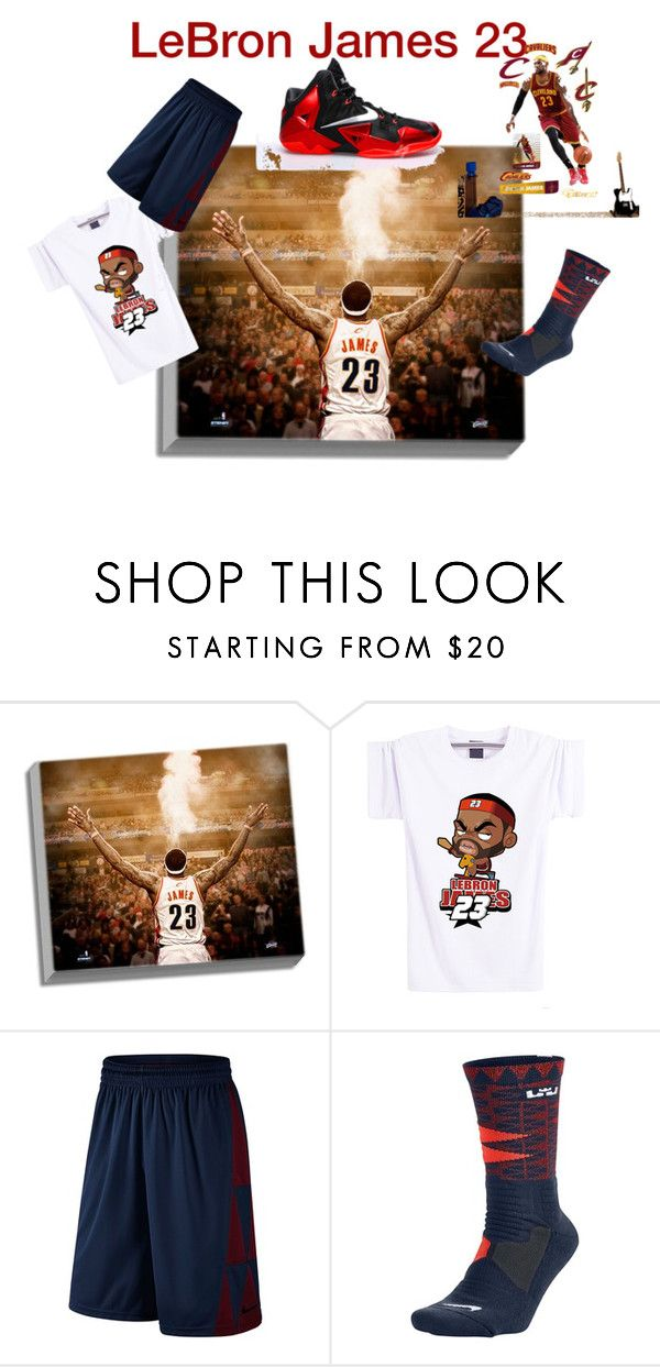 """Home to my city"" by urbanfashionshop on Polyvore featuring Steiner Sports, NIKE, Fathead, men's fashion and menswear"