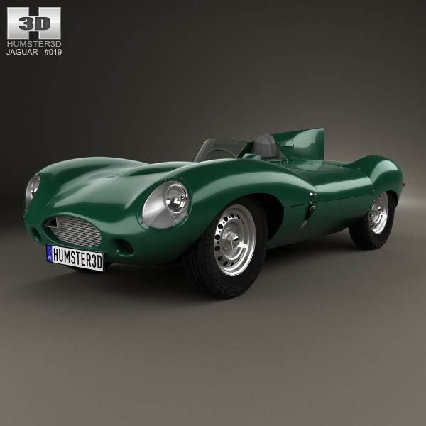 Buy Jaguar D Type 1955 By On The Model Was Created On Real Car Base.