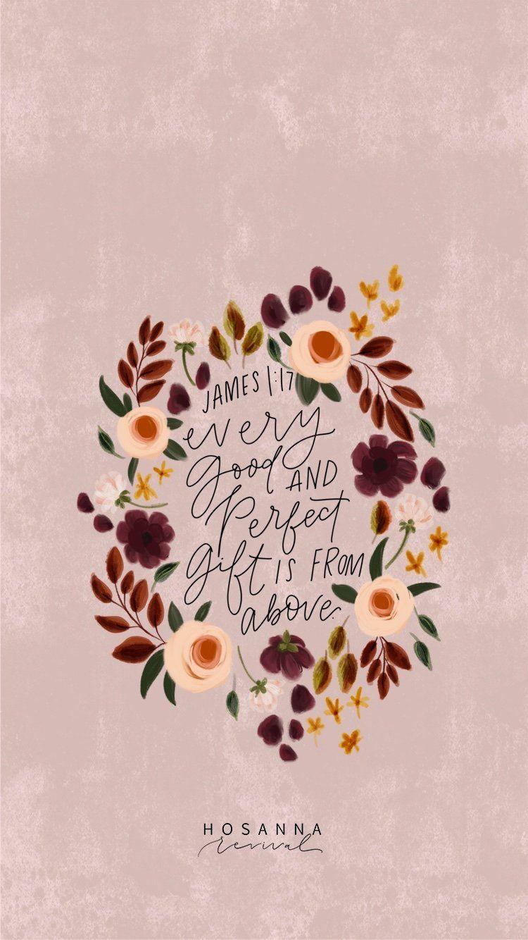 Scripture Lock Screens: James 1:7