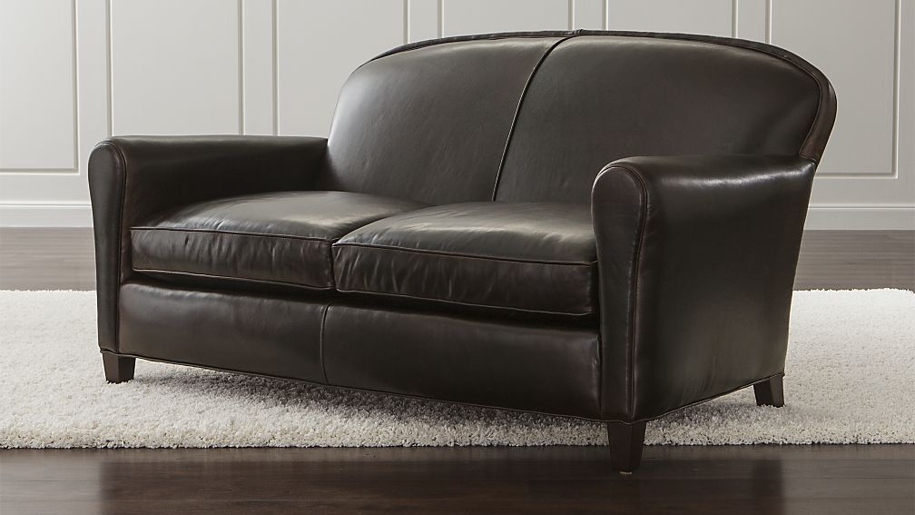 Swell Eiffel Leather Loveseat Leather Loveseat Sofa Furniture Machost Co Dining Chair Design Ideas Machostcouk