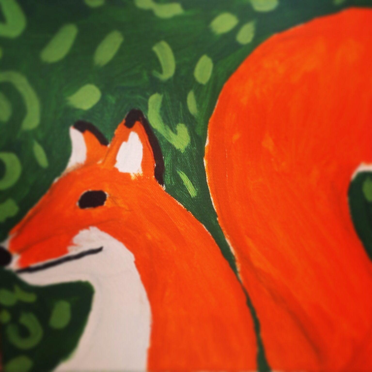 He is a fox