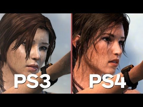 ▶ Tomb Raider: Definitive Edition - PS4/PS3 Comparison and Analysis - YouTube