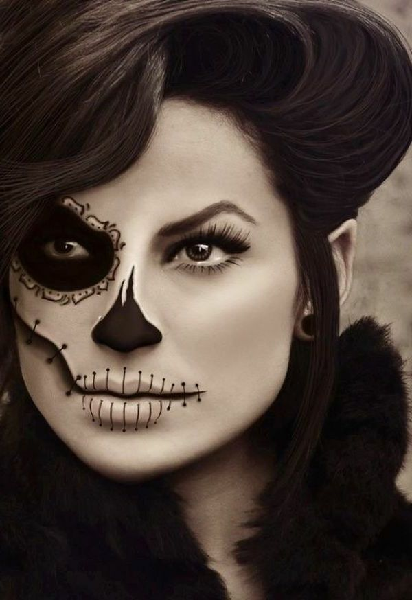 halloween make up ideen masquerade pinterest. Black Bedroom Furniture Sets. Home Design Ideas