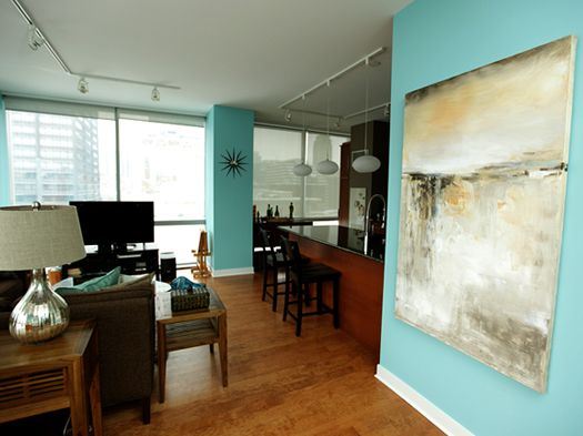 Chicago interior design contemporary modern artwork - Benjamin moore swimming pool paint 042 ...
