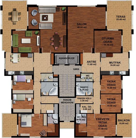 Avc birlik n aat sait kozac o lu konutlar etap 1 for Kar design apartments