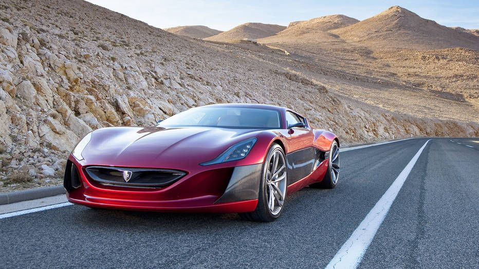 Rimac Croatian Supercar Rimac C Two Concept S Concept One Green Monster Super Cars Best Electric Car Electric Cars
