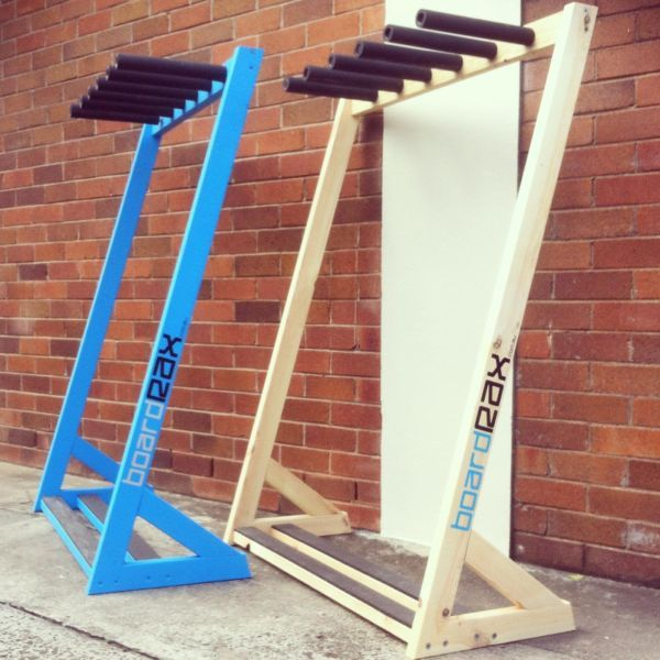Quality Handmade Freestanding Surfboard Racks Natural Pine Boardrax Including Free Delivery To Your Door In Sydneyqueensland Metro Areas 3 Boards 130 4