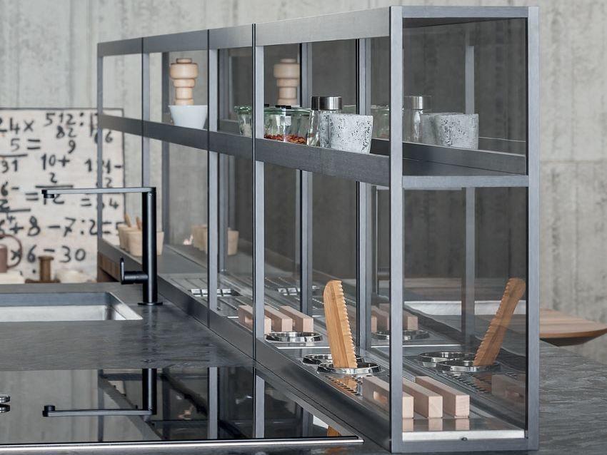 Canale attrezzato per cucina in acciaio inox XPLAIN by ...
