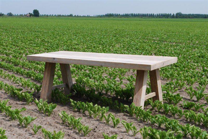 Eettafel Serie Sanne.Steigerhout Tafel Sanne Geheel In Verstek Huis Eettafel