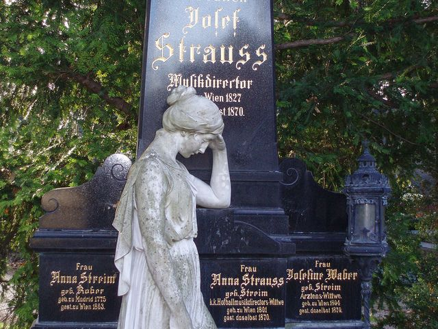 Vienna The City Of Music Page 4 Famous Graves Cemetery Monuments Cemetery