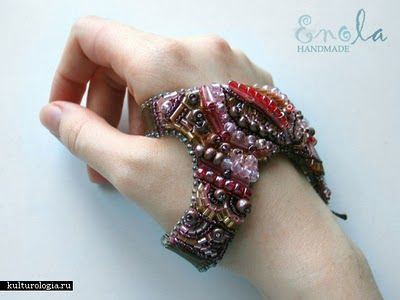 Enola's amazing bead bracelets