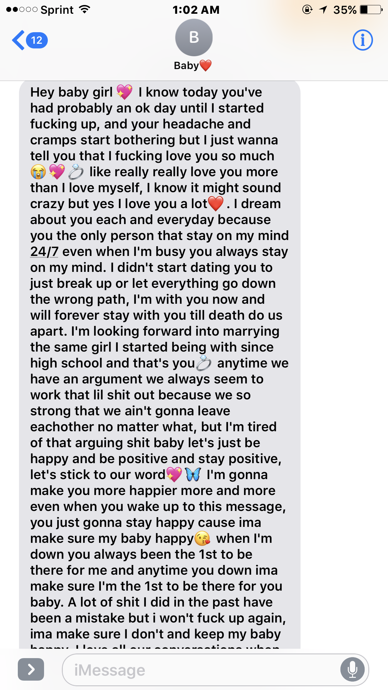 Boyfriend Sweet Message Long Tagalog