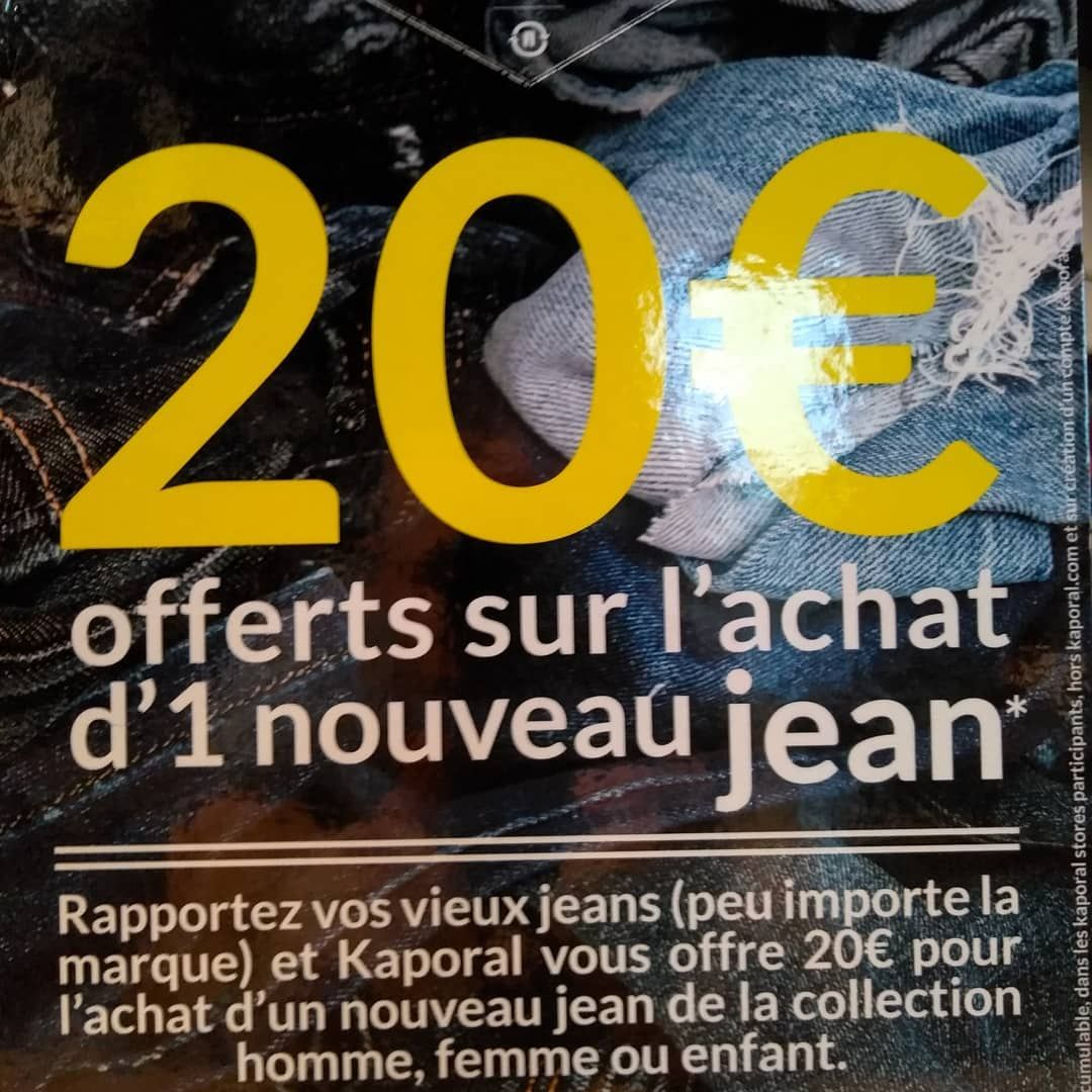 RECYCLE TON JEAN
