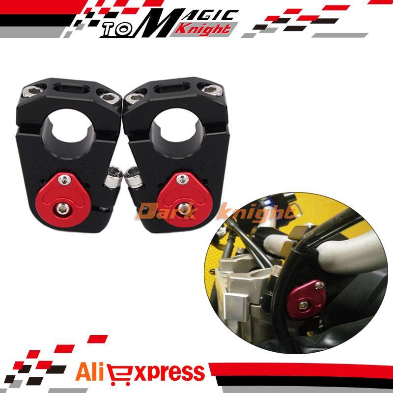 For YAMAHA MT-09 Tracer / FJ-09 2015 2016 NEW Motorcycle Adjustable Handlebar Riser Bar Clamp Adapter