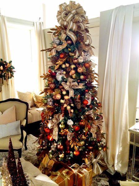 Qvc Host Lisa Robertson S Blog Holiday Decor Christmas Tree Decorations Metal Christmas Tree