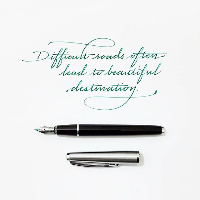 Instagram Photo By Tolga Girgin May 2 2016 At 6 55pm Utc Handwritten Quotes Handwriting Handmade Font