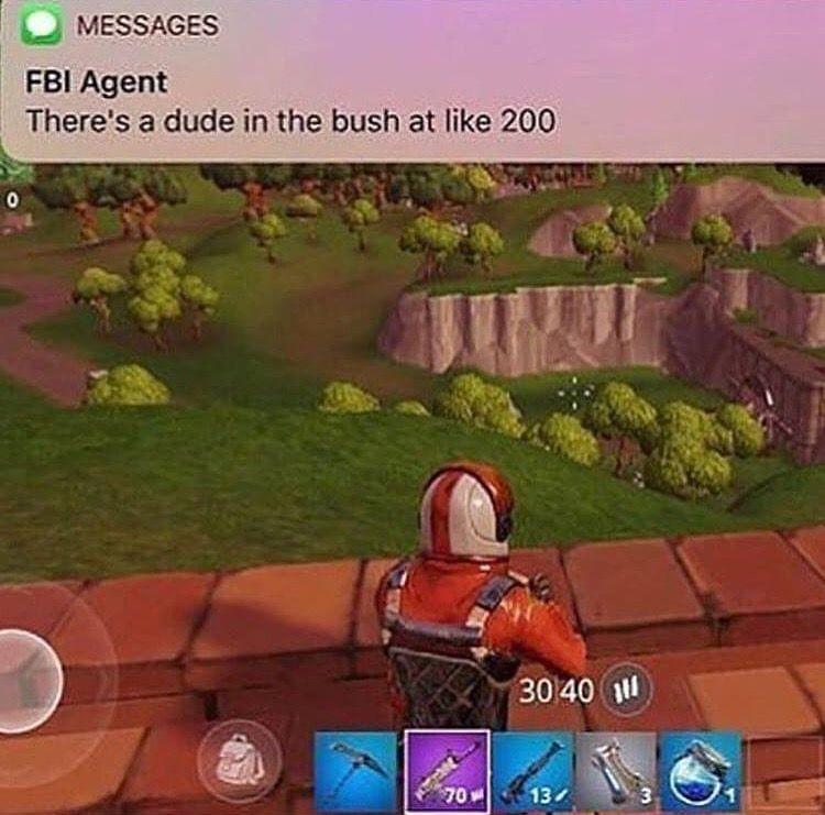 Fbi Agent Fortnite Meme Funny Gaming Memes Fortnite Video Game Memes