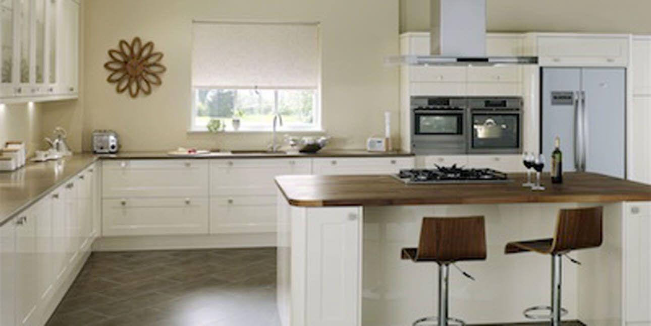 L Förmige Küche Schränke  Schritt Hocker Sitz ist ganz praktisch