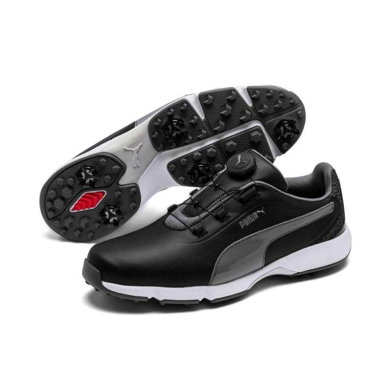 Puma Drive Fusion Disc Zwart | schoenen | Hoekzema Golfshop ...