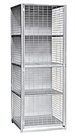 Superb Security Cage Lockers Are Fabricated Of 8 Gauge Welded Wire And 14 Gauge  Steel Frames, Security Cage Lockers Are Ideal For Businesses, Retail  Stores, ...