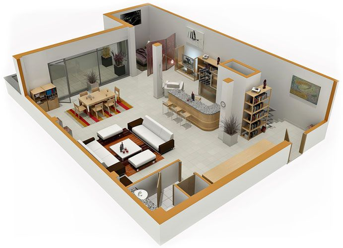 Small House Plans With Loft Bedroom Home Designs - Small residential ...